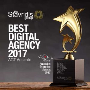 award winning digital agency canberra