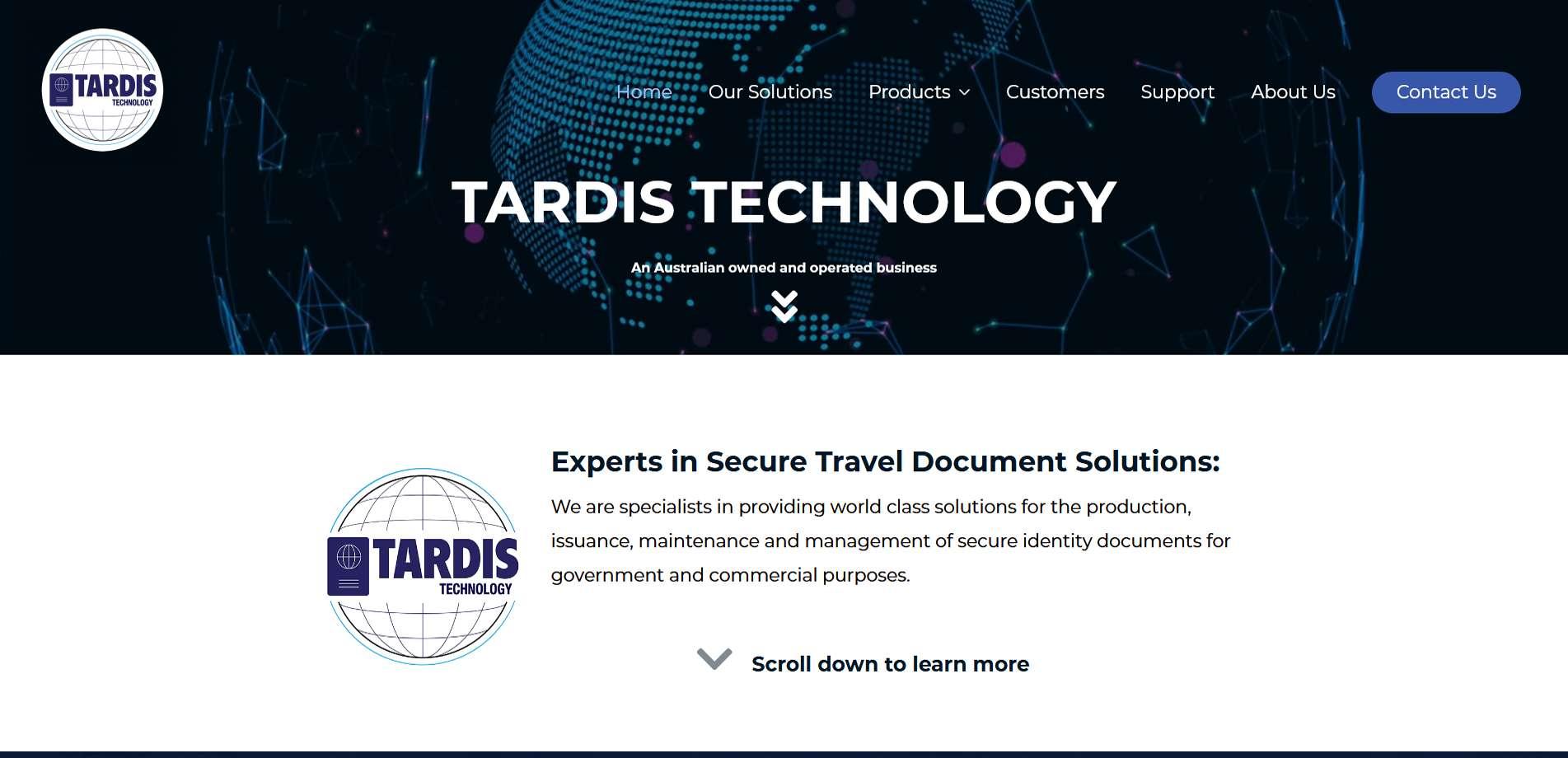 tardis canberra web design